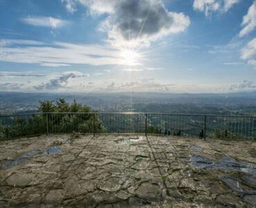 Punto panoramico con vista su Firenze